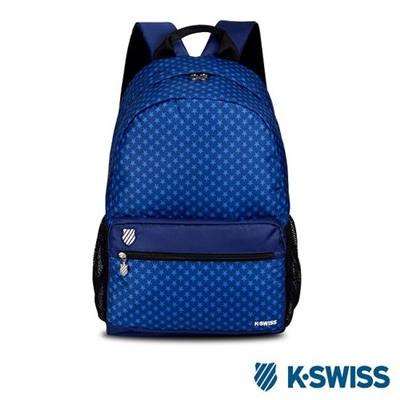 K-Swiss Allover Star Printted Backpack背包