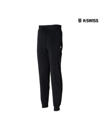K-Swiss Tricot Pants-運動長褲-男-黑